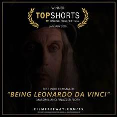 ESSERE LEONARDO DA VINCI: IL FILM DI FINAZZER FLORY DEBUTTA A PROVIDENCE (RHODE ISLAND)