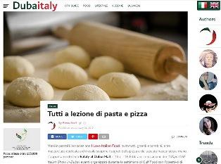 TUTTI A LEZIONE DI PASTA E PIZZA