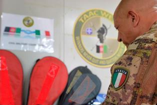 AFGHANISTAN: GRANDE SOLIDARIETÀ E SPORT AD HERAT CON IL CONTINGENTE ITALIANO