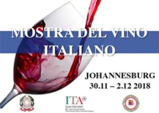 L'ITALIA ALLA FESTA DEL VINO DI JOHANNESBURG IN SUD AFRICA