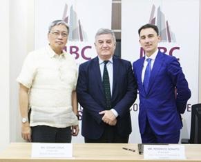 MANILA: SIGLATO UN MEMORANDUM D'INTESA TRA MBC E CAMERA DI COMMERCIO ITALIANA