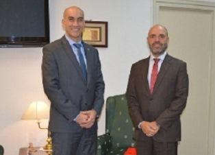 PARAGUAY: L'AMBASCIATORE ANNIS INCONTRA IL MINISTRO DELLA SALUTE MAZZOLENI