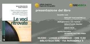 """ITALIANI PRIGIONIERI DI GUERRA: L'ISRE PRESENTA IL VOLUME """"LE VOCI RITROVATE"""""""