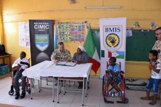 MILITARI ITALIANI IN GIBUTI: UN GIORNO SPECIALE PER I BAMBINI DISABILI
