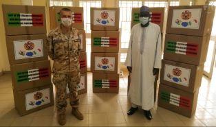 MISSIONE IN NIGER: IL CONTINGENTE ITALIANO DONA 40.000 MASCHERINE ALLA POPOLAZIONE
