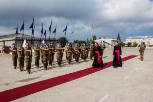 LIBANO: IL NUNZIO APOSTOLICO JOSEPH SPITERI VISITA I CASCHI BLU ITALIANI DELLA MISSIONE UNIFIL