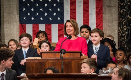 CONGRESSO USA: NANCY PELOSI SPEAKER DELLA CAMERA