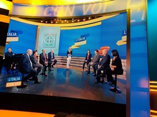 """RAI ITALIA: IL CDP DEL CGIE A """"L'ITALIA CON VOI"""""""