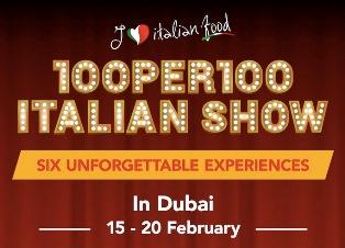 """THE 100PER100 ITALIAN SHOW"" TORNA A DUBAI"