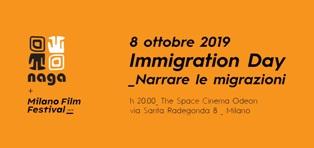 """IMMIGRATION DAY 2019: IL NAGA AL MILANO FILM FESTIVAL CON """"NARRARE LE MIGRAZIONI"""""""