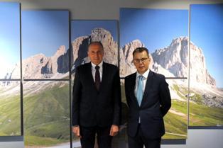 RAPPORTI INTERNAZIONALI/ VISITA IN TRENTINO PER IL NUOVO CONSOLE GENERALE D'AUSTRIA CLEMENS MANTL