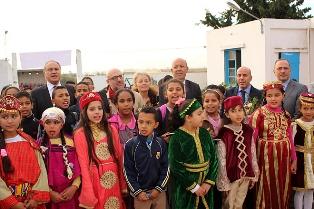L'AICS IN TUNISIA: L'EDUCAZIONE PRIMARIA PASSA ANCHE DALLA BUONA PRATICA DI LAVARSI LE MANI