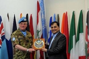 LIBANO: VISITA DEL MINISTRO DELLA DIFESA DEL NEPAL A UNIFIL