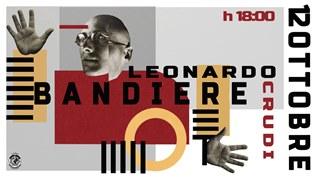 """LE """"BANDIERE"""" DI LEONARDO CRUDI IN MOSTRA A ROMA"""