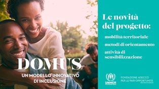 """RIFUGIATI TRA LAVORO E INSERIMENTO: FONDAZIONE ADECCO E UNHCR PRESENTANO I RISULTATI DEL PROGETTO """"DOMUS"""""""