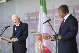 MATTARELLA IN ANGOLA: SVILUPPARE AMICIZIA E COOPERAZIONE CON L'ITALIA