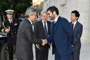 DIFESA: INCONTRO BILATERALE ITALIA E GIAPPONE