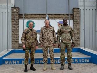 MISSIONE IN AFGHANISTAN: IL GENERALE BÜHLER VISITA IL CONTINGENTE ITALIANO