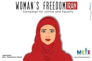 """È NATA """"WOMAN'S FREEDOM IN IRAN"""": LA CAMPAGNA A TUTELA DELLA LIBERTÀ DELLE DONNE IN IRAN"""