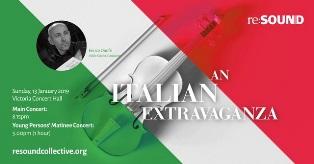 """""""AN ITALIAN EXTRAVAGANZA"""": IL MAESTRO ENRICO ONOFRI IN CONCERTO A SINGAPORE"""
