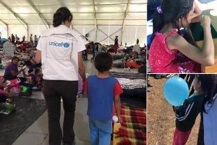 MIGRANTI MESSICO/ UNICEF: I BAMBINI CHE VIAGGIANO CON LA CAROVANA DI MIGRANTI A RISCHIO DI DISAGIO PSICOSOCIALE