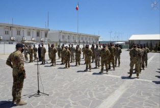 MISSIONE IN AFGHANISTAN: INAUGURATO MONUMENTO A CAMP ARENA