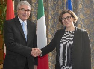 ITALIA - TUNISIA: RAFFORZATA LA COOPERAZIONE BILATERALE MILITARE