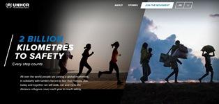 2 MILIARDI DI KM PER SALVARSI: LA NUOVA CAMPAGNA DELL'UNHCR INVITA A ESSERE SOLIDALI CON I RIFUGIATI