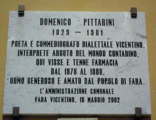 DOMENICO PITTARINI, L'OMERO DEL VENETO – di Ettore Beggiato