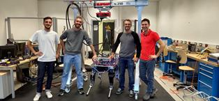 HYQ-BLUE: UNITRENTO E IIT INSIEME PER IMPLEMENTARE LA TECNOLOGIA ROBOTICA ANIMALOIDE
