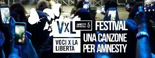 PREMIO AMNESTY INTERNATIONAL ITALIA: I DIECI ARTISTI IN LIZZA PER LA MIGLIOR CANZONE SUI DIRITTI UMANI