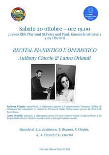 ANTHONY CIACCIO E LAURA ORLANDI A BASILEA CON COMITES E CONSOLATO