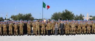 LIBANO: IL SALUTO DEL PRESIDENTE DEL SENATO AI MILITARI ITALIANI