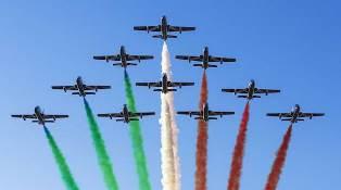 DOMANI A KUWAIT CITY L'ULTIMA TAPPA DEL TOUR IN MEDIO ORIENTE DELLE FRECCE TRICOLORI