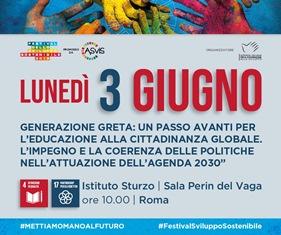 GENERAZIONE GRETA: UN PASSO AVANTI PER L'EDUCAZIONE ALLA CITTADINANZA GLOBALE/ CONFERENZA DELL'AICS A ROMA