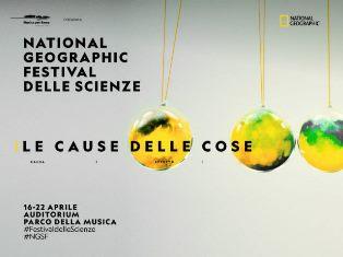 APPUNTAMENTO CON IL CNR AL NATIONAL GEOGRAPHIC FESTIVAL DELLE SCIENZE 2019
