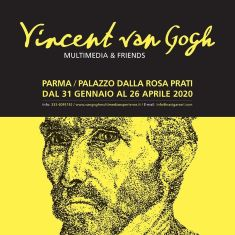 """VINCENT VAN GOGH MULTIMEDIA & FRIENDS"" IN MOSTRA A PARMA"