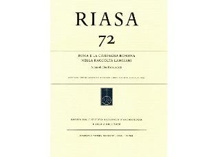 """""""ROMA E LA CAMPAGNA ROMANA NELLA RACCOLTA LANCIANI"""": IL VOLUME ALL"""