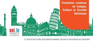 ALL'UNIVERSITÀ DEL LUSSEMBURGO CORSI IN LINGUA CULTURA E SOCIETÀ ITALIANA