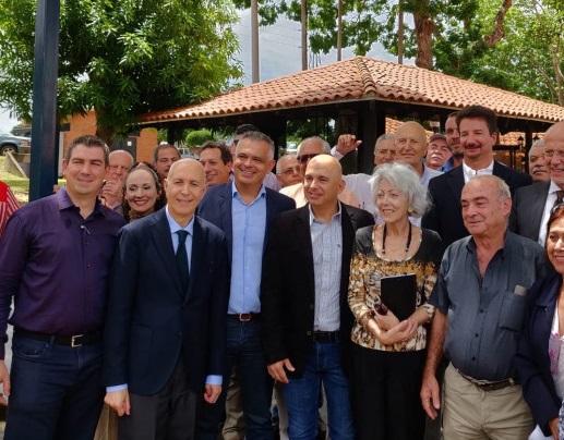 CONTINUANO GLI INCONTRI DELL'AMBASCIATORE VIGO CON LE COMUNITÀ ITALIANE IN VENEZUELA